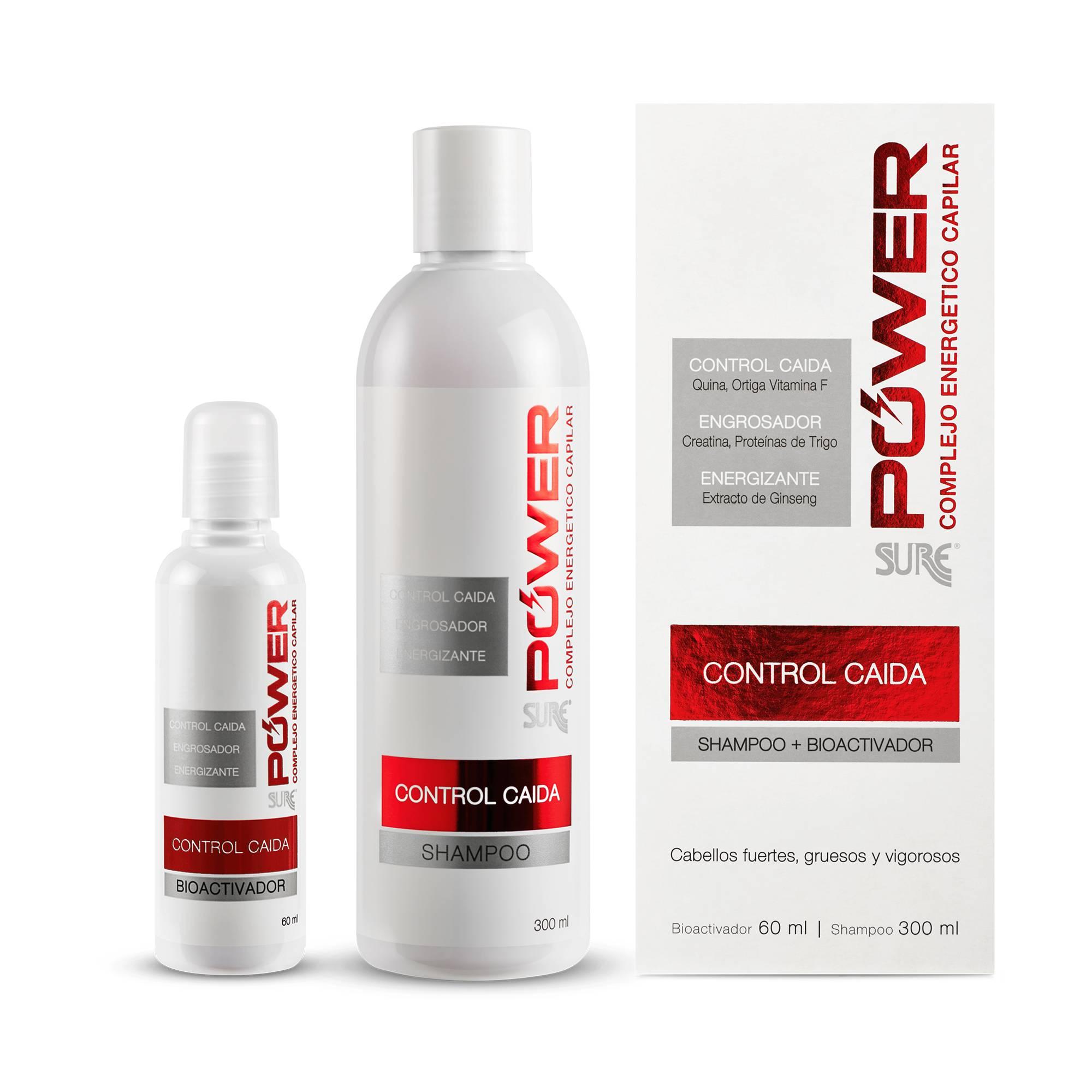 Fithoplasma Sure Shampoo mas Bioactivador Control Caída Power